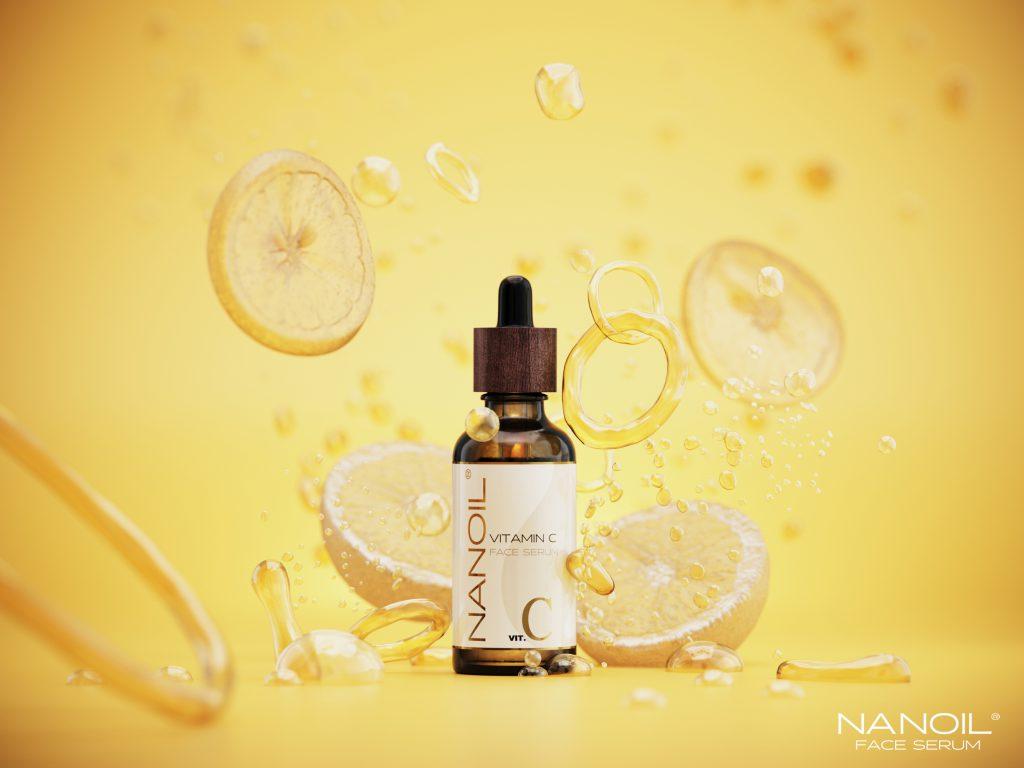 Vitamin C in Nanoil Face Serum for Better, Healthier Skin