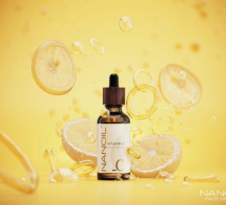 good face serum with vitamin c Nanoil