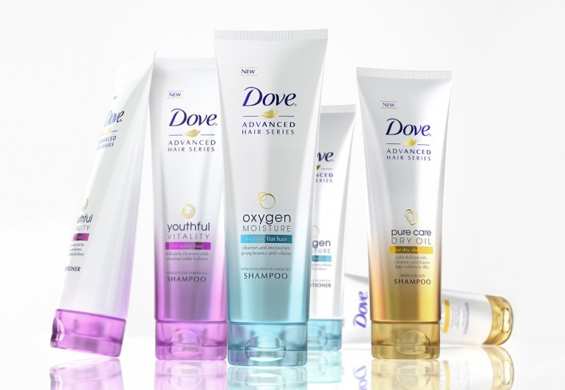 Highly advanced hair care with Dove Advanced Hair Series