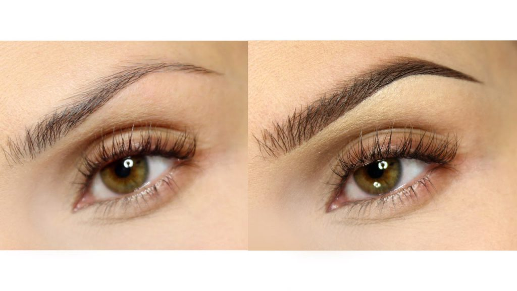 Eyebrow makeup. How to fill in and style your brows to get the natural look?