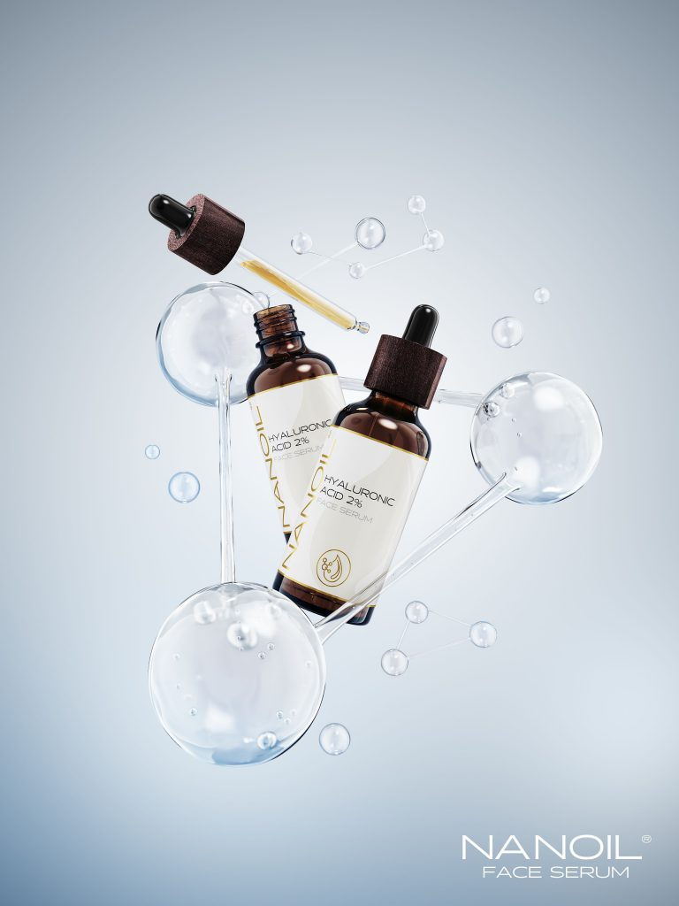 Hyaluronic Face Serum from Nanoil. Dare to Look Flawless!