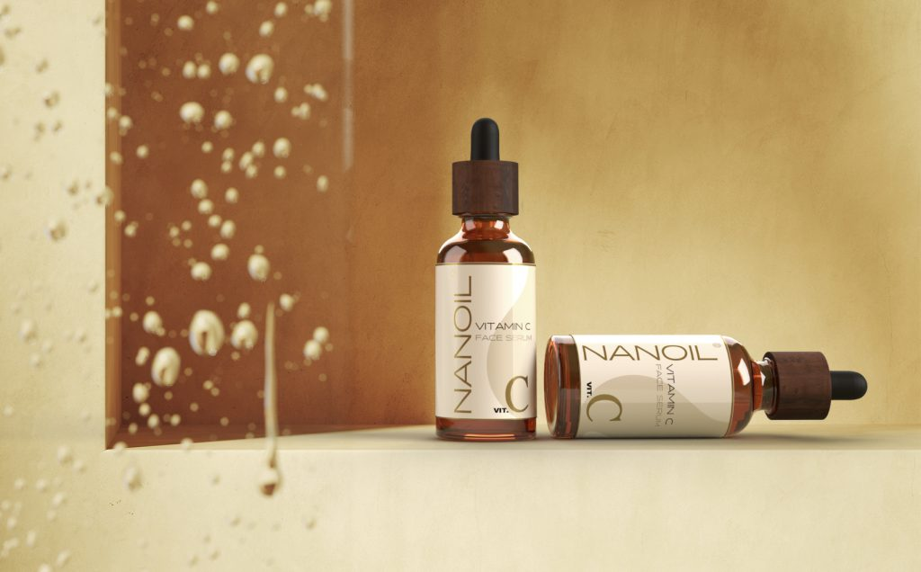 Vitamin C in Nanoil Face Serum for Better, Healthier Skin