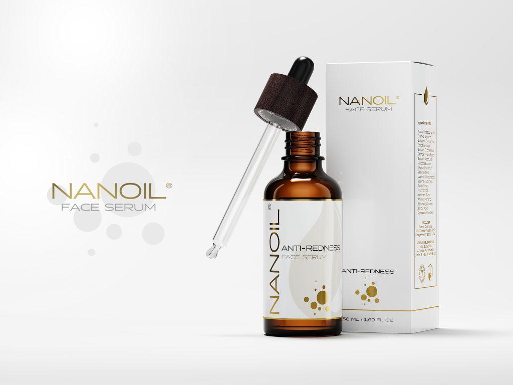 Nanoil the best anti-redness serum