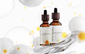 recommended face serum for redness Nanoil